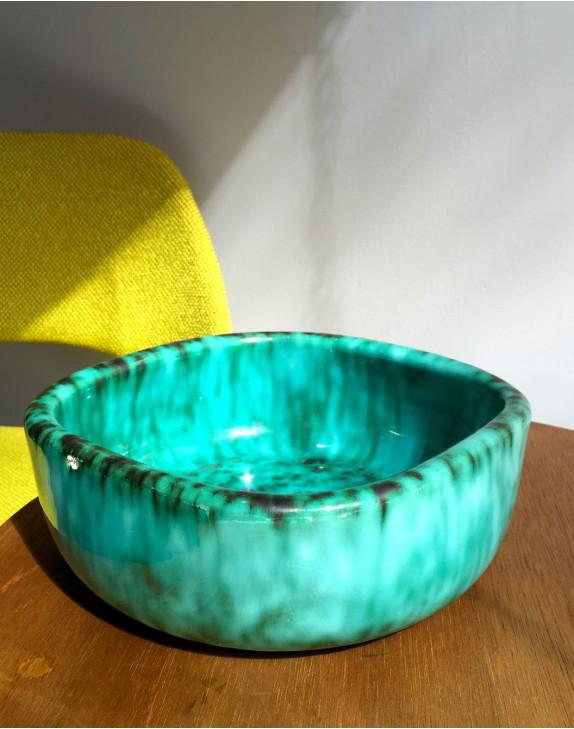 Plat en céramique années 50