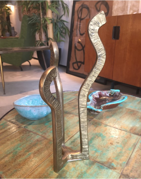 Sculpture en laiton