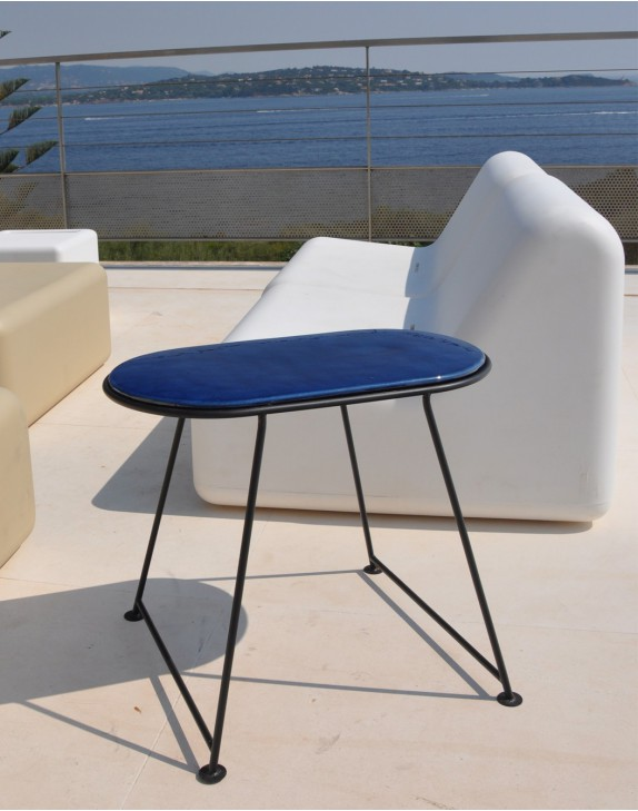Table Capsule Bleu