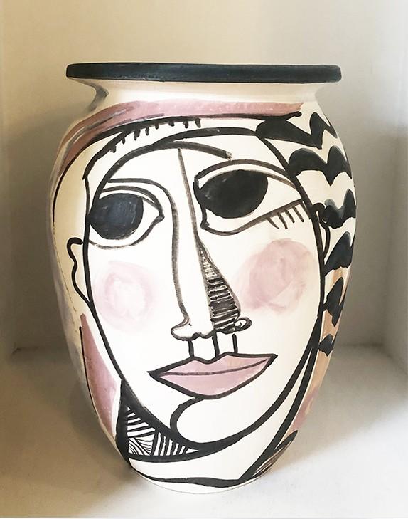 Vase en terre