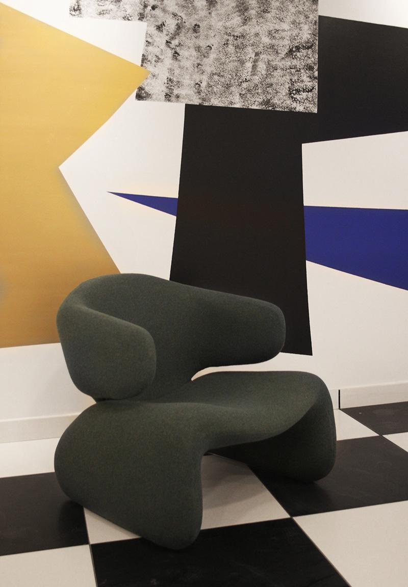 Nathalie Rives réalisation, Lobby immeuble Parisien